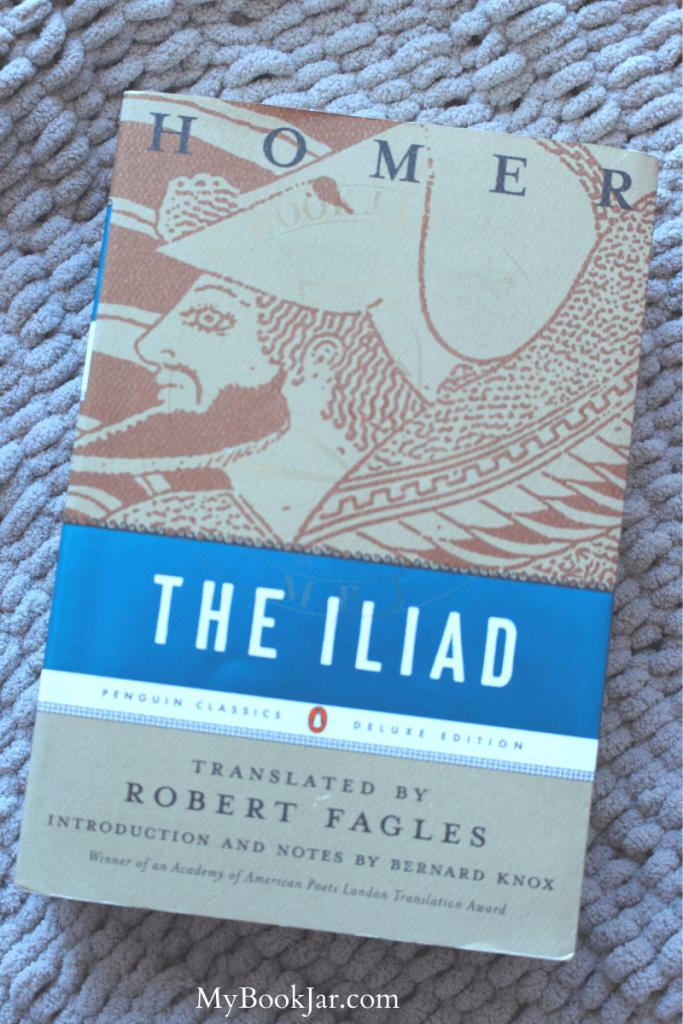 The Iliad cover