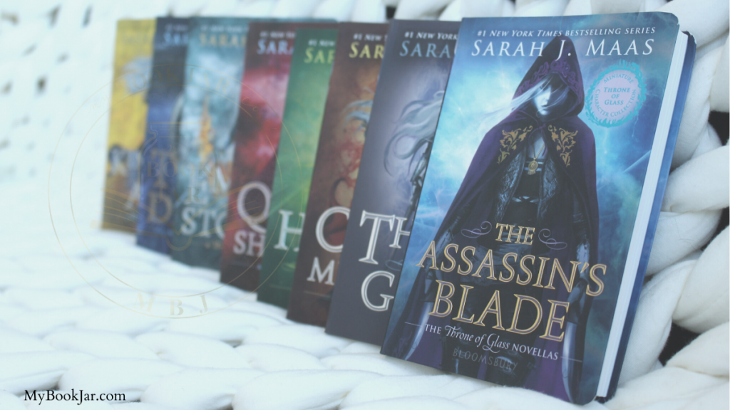 Throne of Glass Series covers