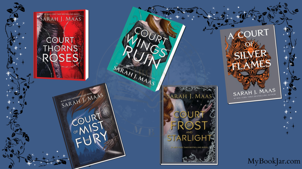 A Court of Thorns and Roses series covers