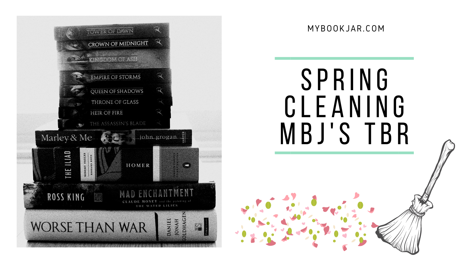 Spring Cleaning MBJs TBR get it off my TBR