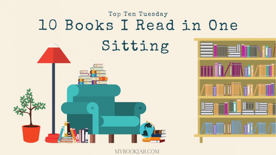 10 Books I read in one sitting